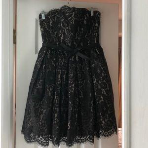 Black/Nude Lace Mini Dress - Target x Neiman Marcu